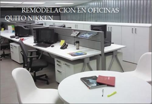 REMODELACIÓN  OFICINAS QUITO