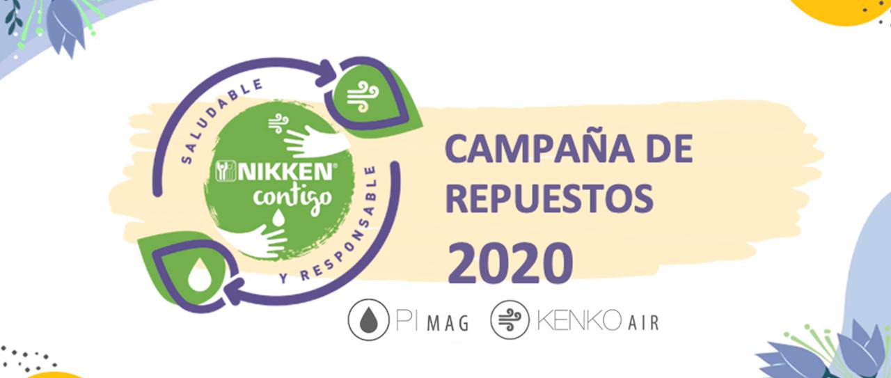 LANZAMIENTO DE LA CAMPAÑA DE REPUESTOS NIKKEN CONTIGO 2020