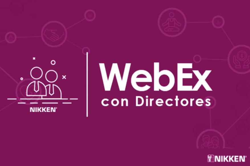 WEBEX DE LOS DIRECTORES | ABRIL